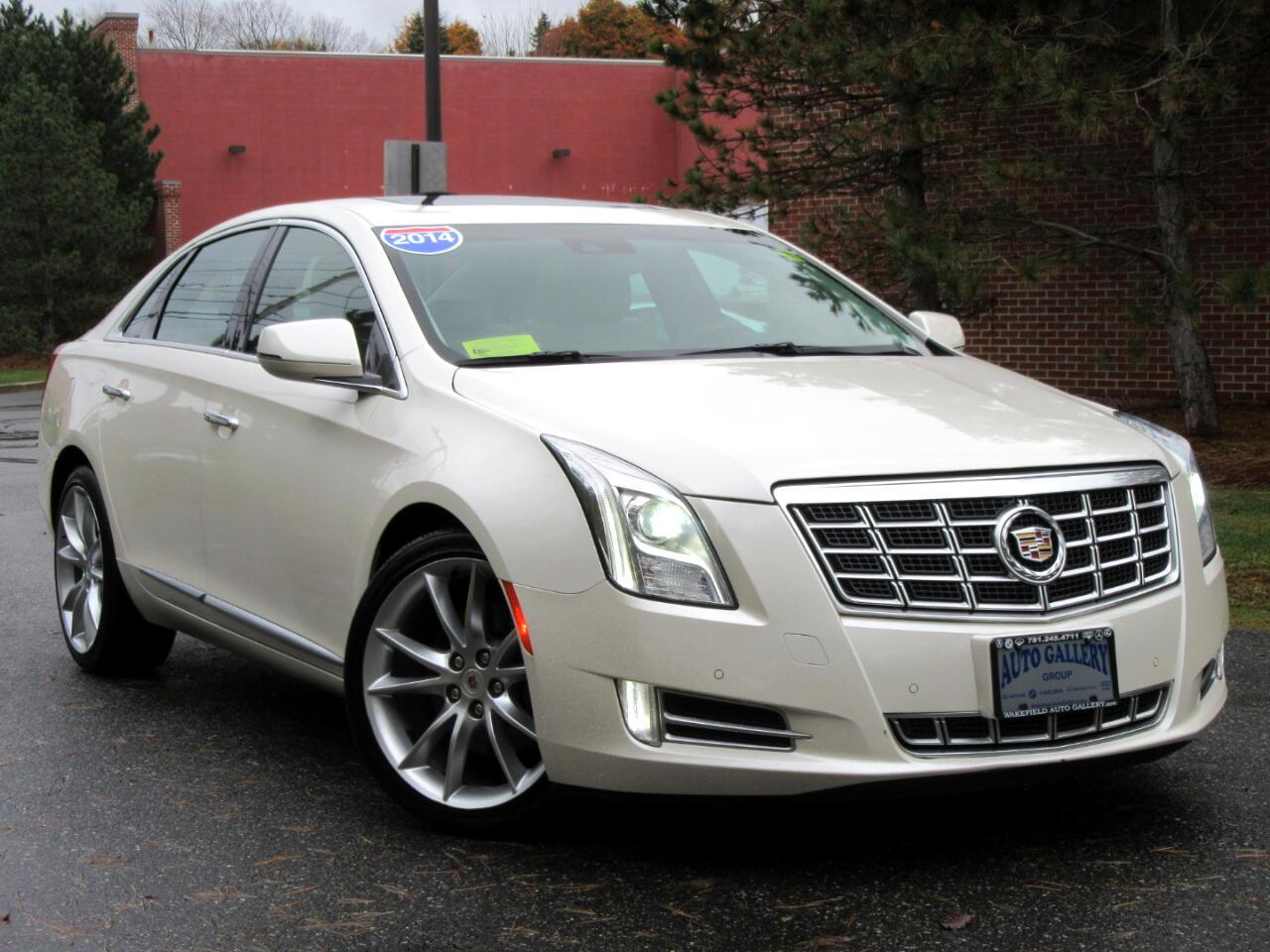 2014 Cadillac XTS 4dr Sdn Premium AWD Navigation DVD Entertainment