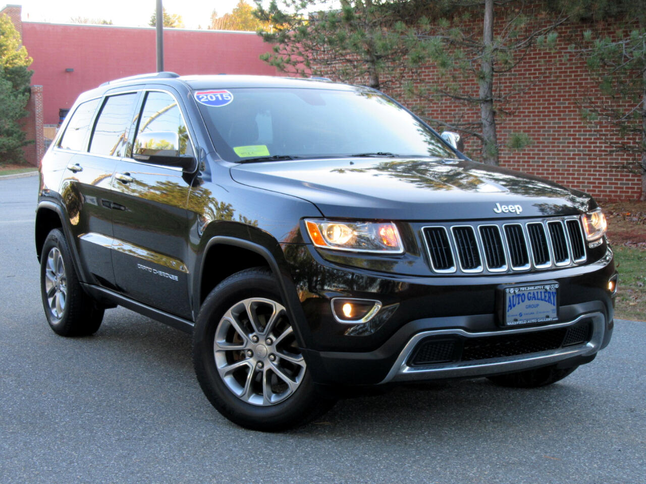 2015 Jeep Grand Cherokee 4WD 4dr Limited Navigation Backup Camera