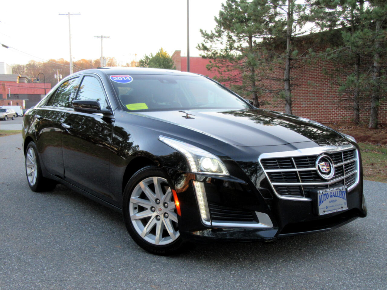 2014 Cadillac CTS Sedan 4dr Sdn 3.6L Luxury AWD Navigation Backup Camera