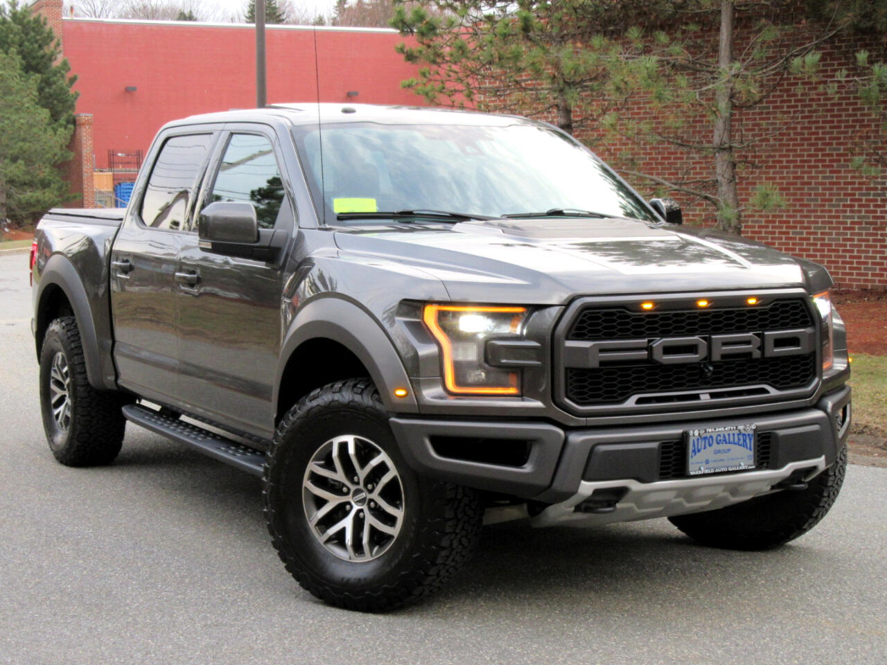 Ford F-150 Raptor 4WD SuperCrew 5.5' Box 2017