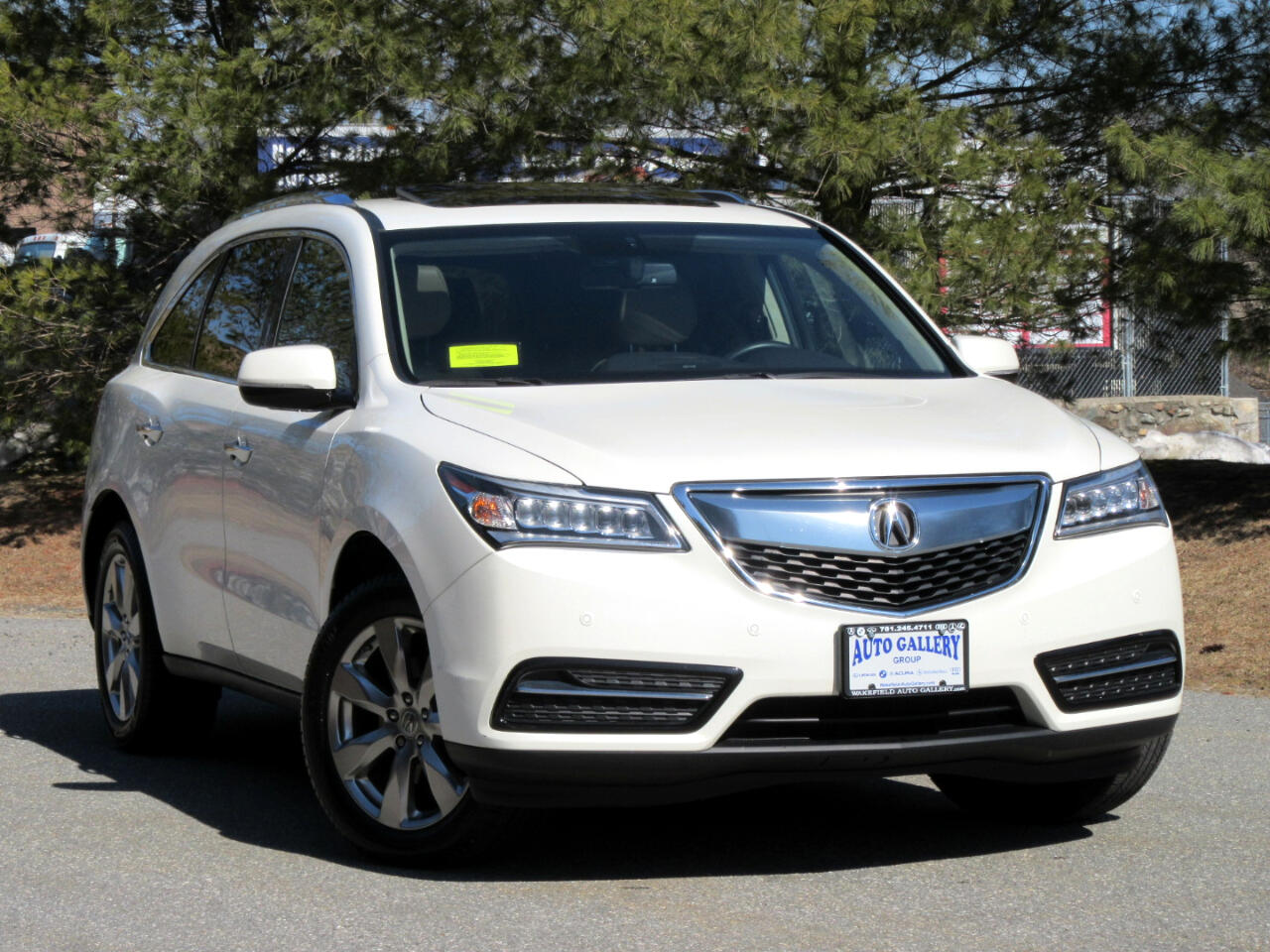 Acura MDX SH-AWD 4dr Advance/Entertainment Pkg 2015