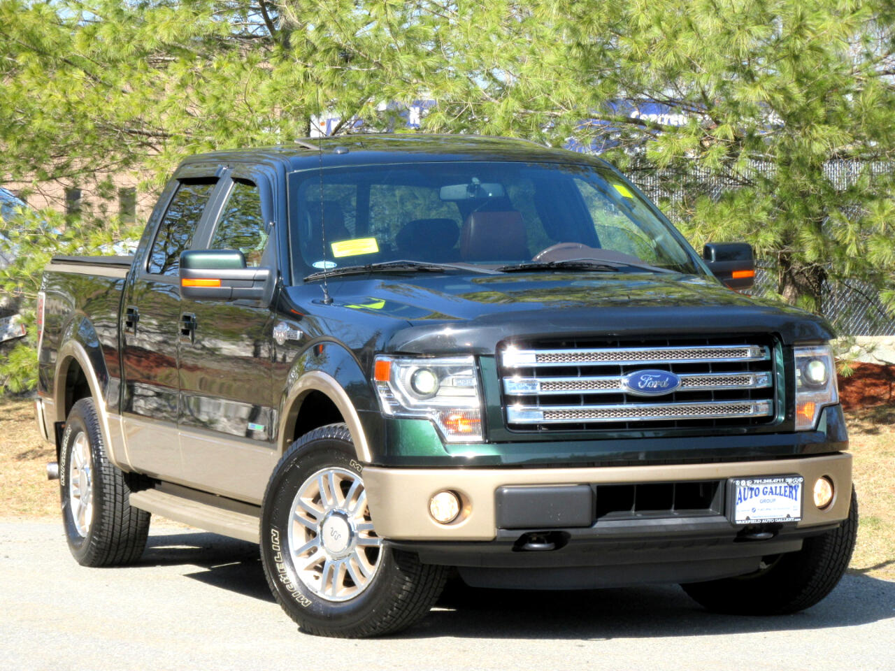 "Ford F-150 4WD SuperCrew 145"" King Ranch 2014"