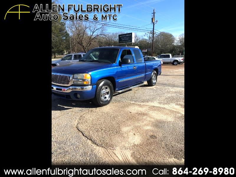 2003 GMC Sierra 1500 SLE Ext. Cab Short Bed 2WD