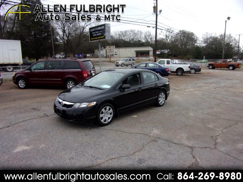 2010 Honda Civic LX Sedan 5-Speed AT