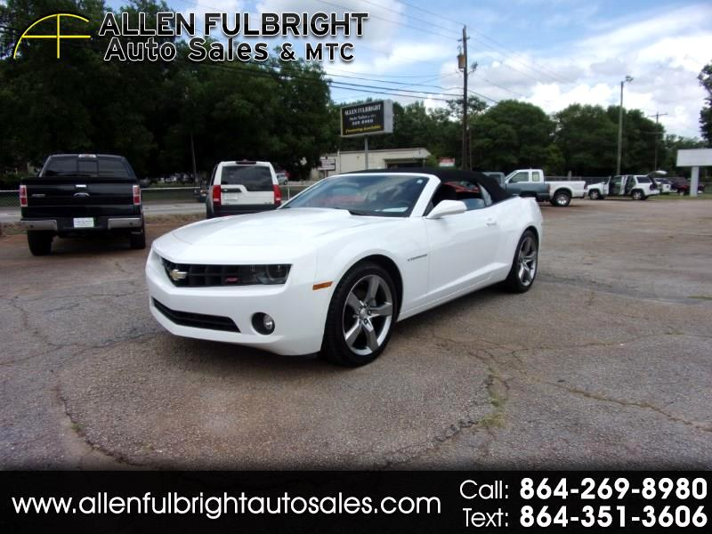 2012 Chevrolet Camaro 2dr Convertible RS