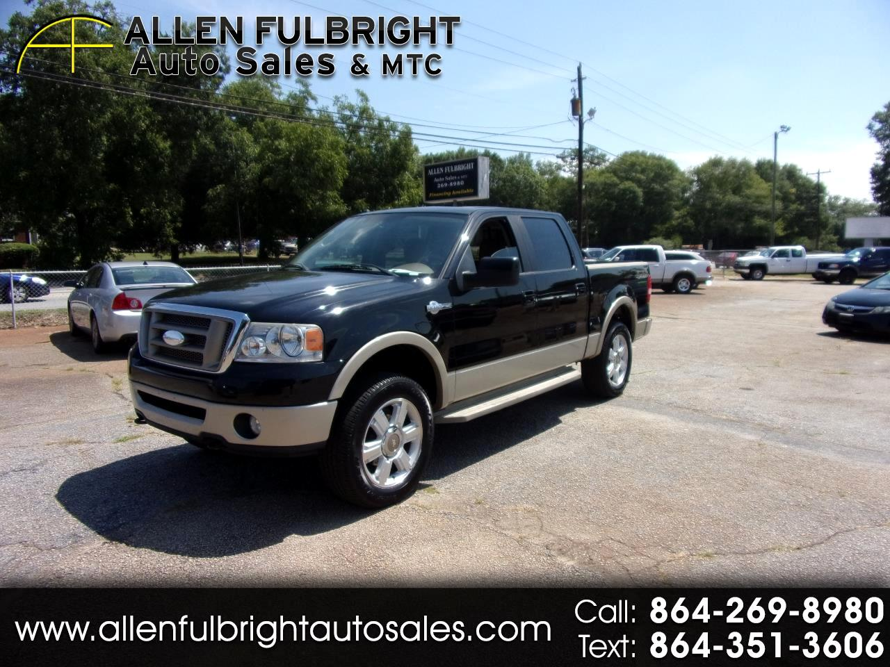 2007 Ford F-150 King Ranch SuperCrew 4WD