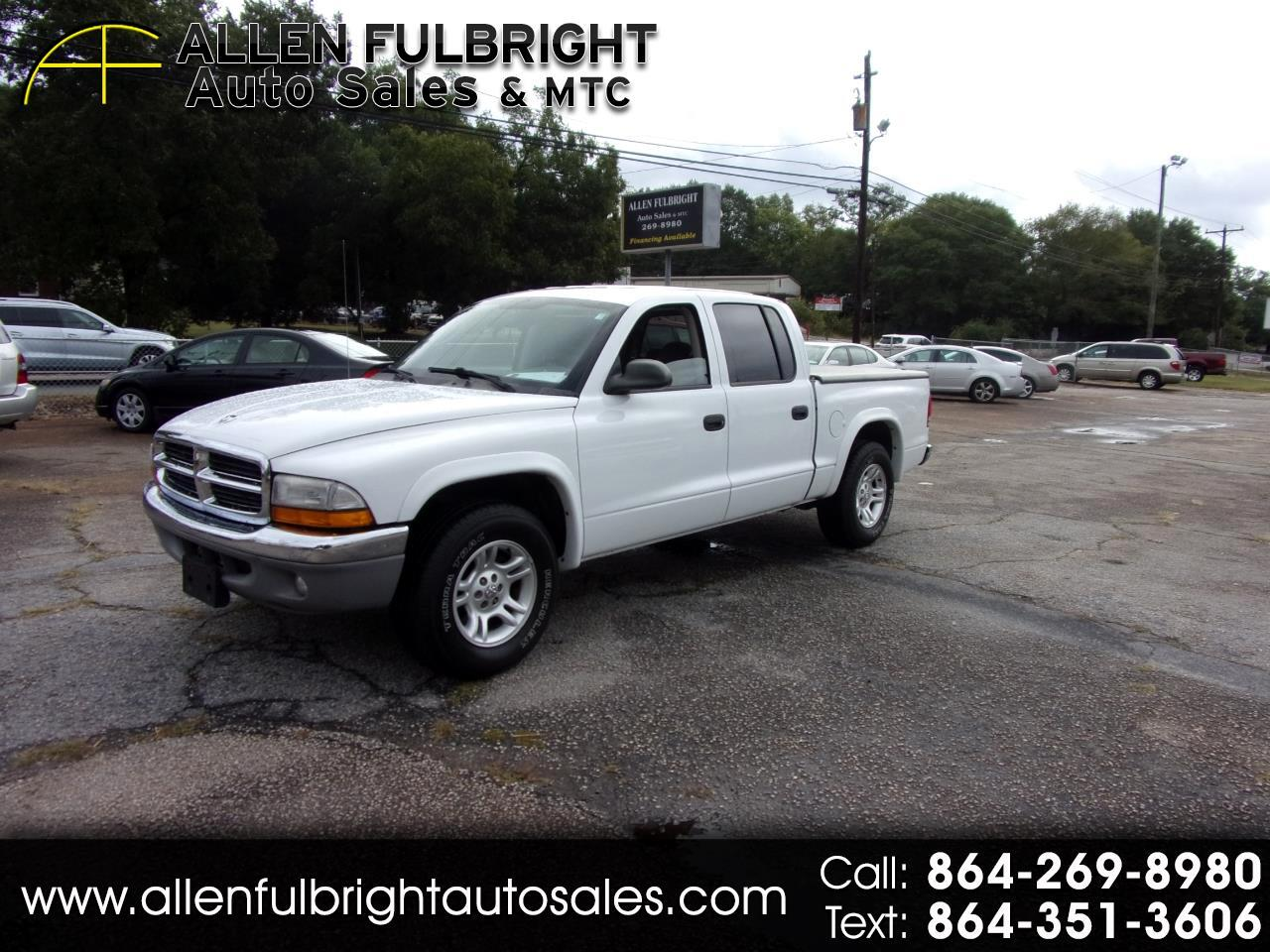 Dodge Dakota SLT Quad Cab 2WD 2003