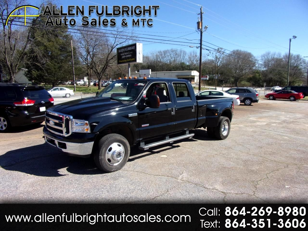 Ford F-350 SD Lariat Crew Cab Long Bed 4WD DRW 2005