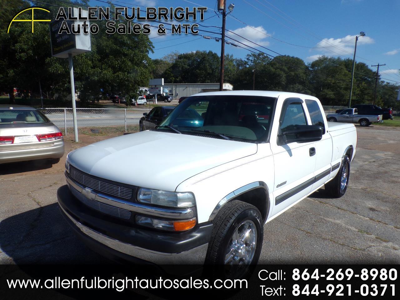 Chevrolet Silverado 2500 Ext. Cab Short Bed 2WD 1999