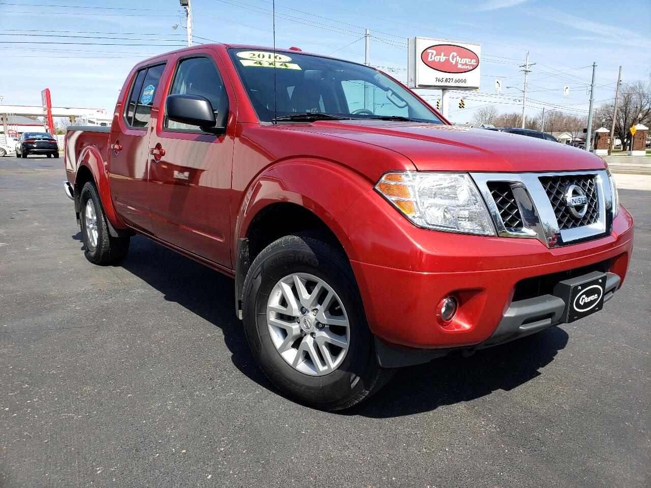 2016 Nissan Frontier 4WD Crew Cab SWB Manual SV