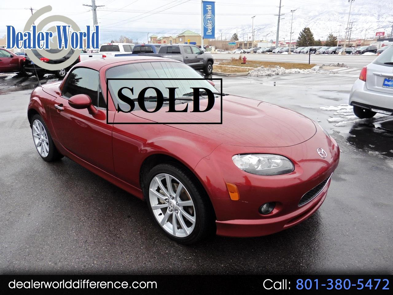 2008 Mazda MX-5 Miata Grand Touring Power Retractable Hardtop