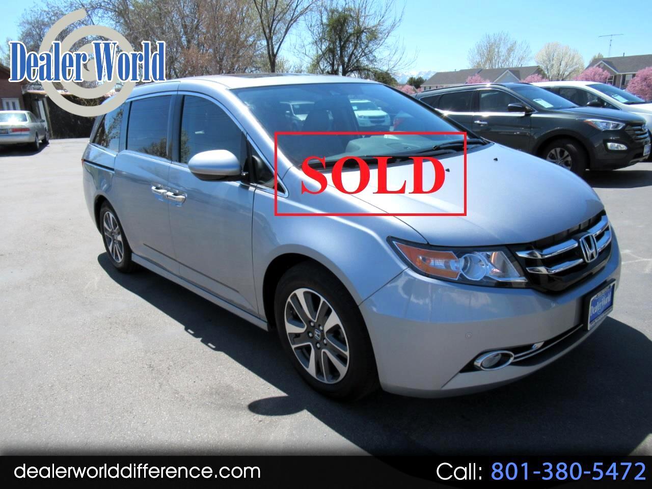 2016 Honda Odyssey Elite