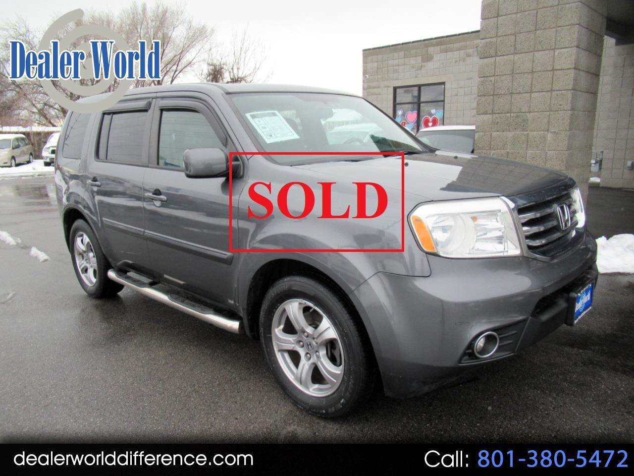 Honda Pilot EX-L 4WD 5-Spd AT with DVD 2013