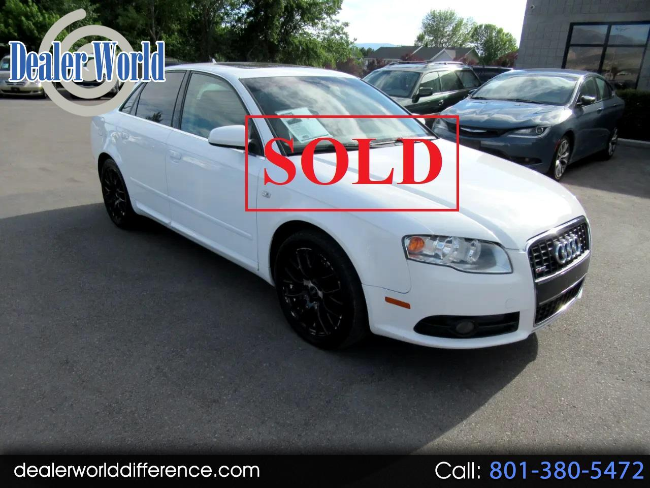 Audi A4 2.0T with Multitronic 2008