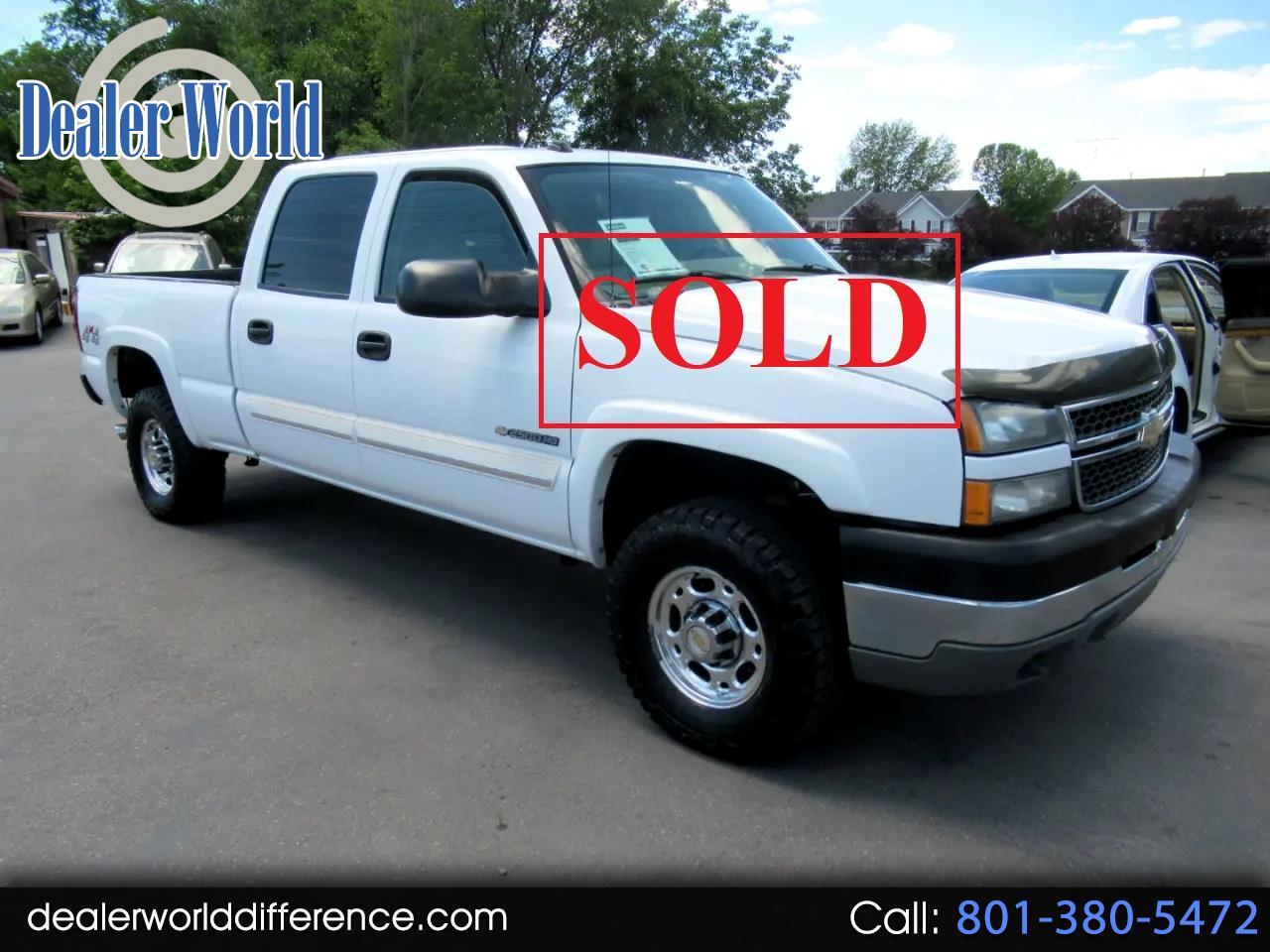 Chevrolet Silverado 2500HD Crew Cab Short Bed 4WD 2005