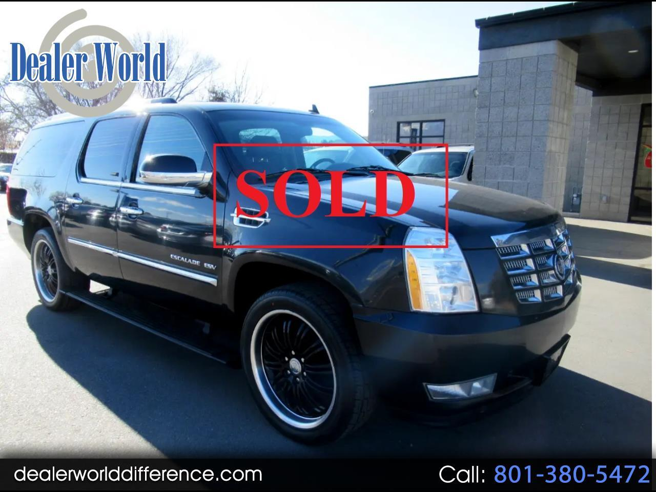 Cadillac Escalade ESV AWD Luxury 2012