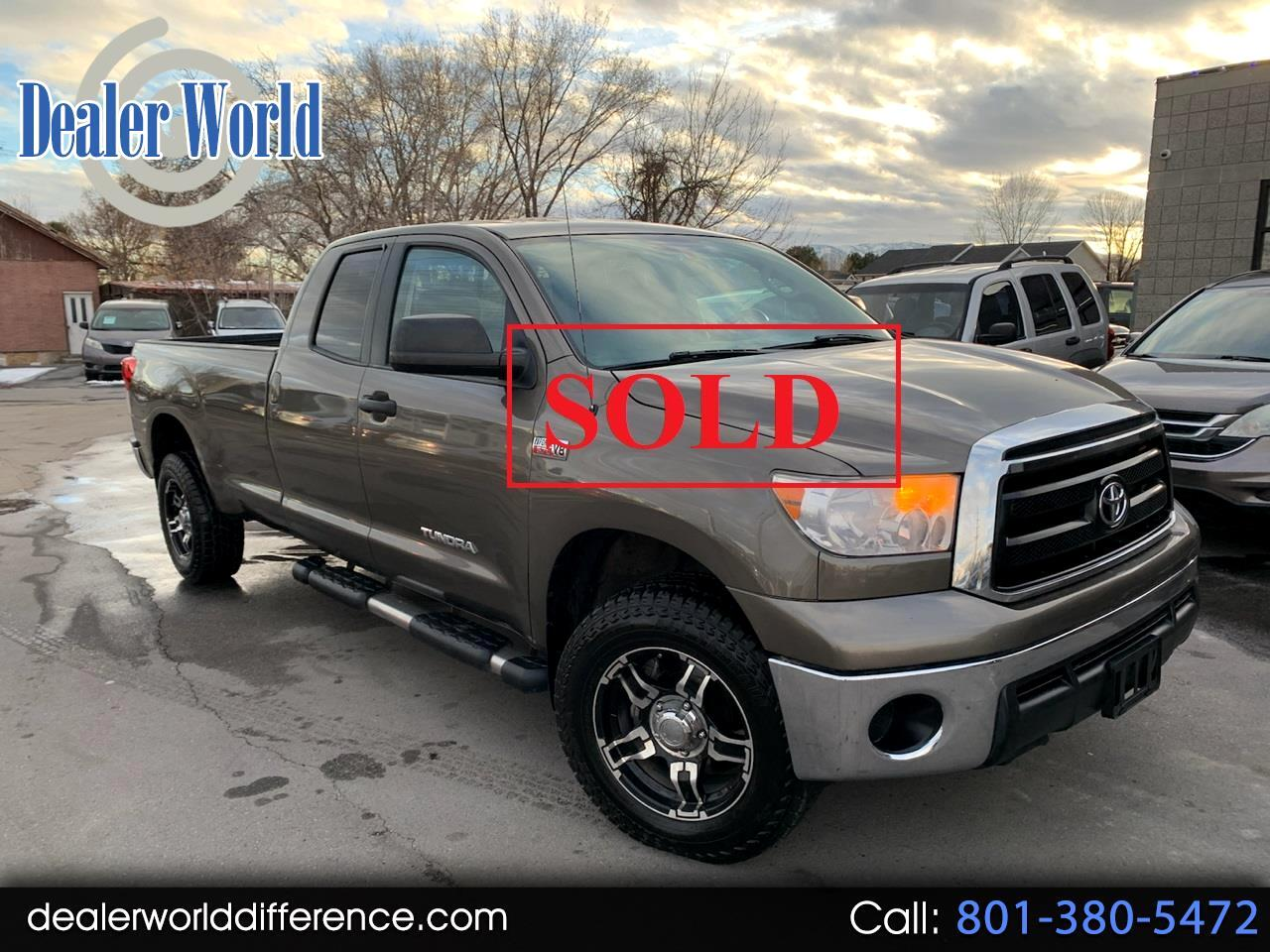 Toyota Tundra Tundra-Grade 5.7L Double Cab Long Bed 4WD 2011