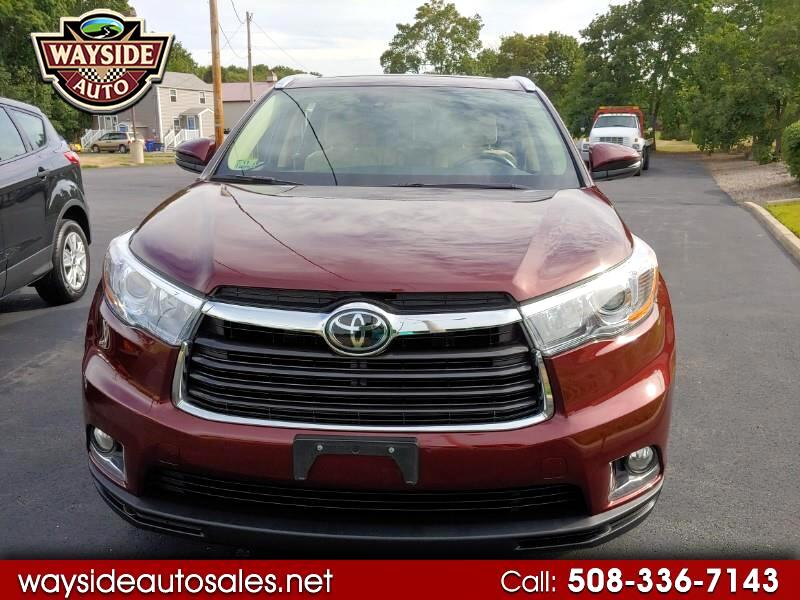 Toyota Highlander Limited Platinum AWD V6 2016