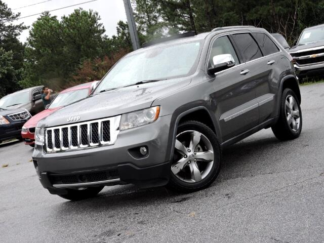 2011 Jeep Grand Cherokee Overland 2WD