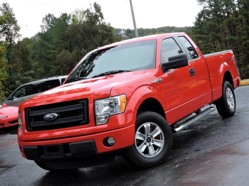 2013 Ford F-150 STX SuperCab 5.5-ft. Bed 2WD