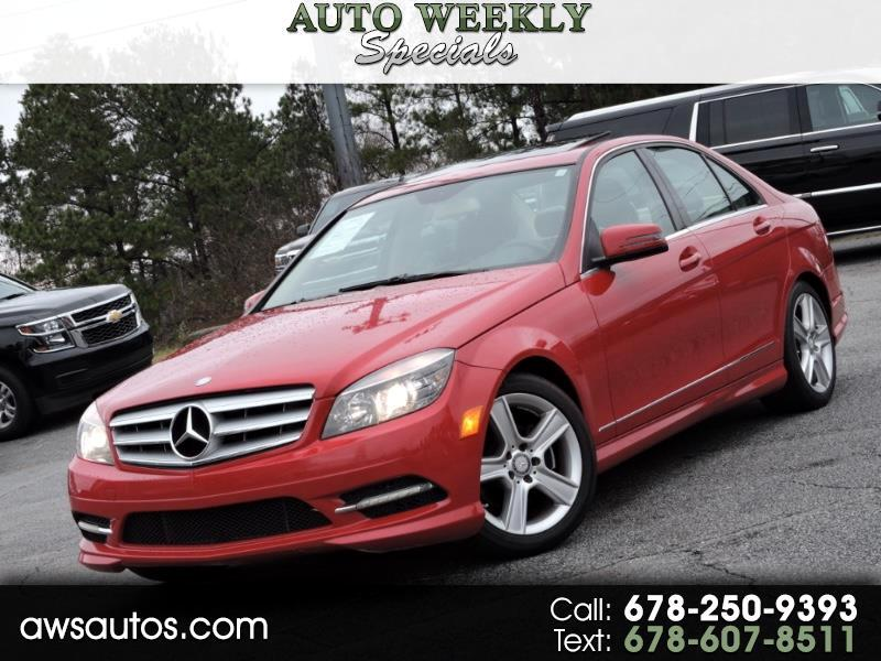 2011 Mercedes-Benz C-Class 4dr Sdn C 300 Luxury RWD