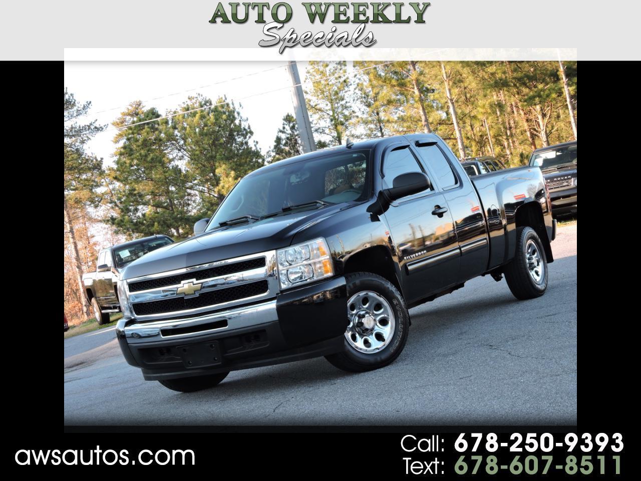 """2011 Chevrolet Silverado 1500 2WD Ext Cab 143.5"""" LS"""