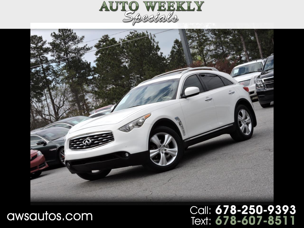 2011 INFINITI FX35  for sale VIN: JN8AS1MU9BM711651