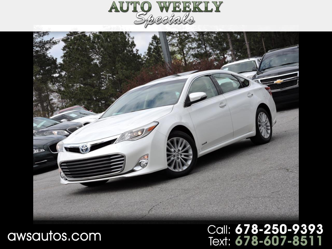 2013 Toyota Avalon Hybrid XLE Premium Hybrid