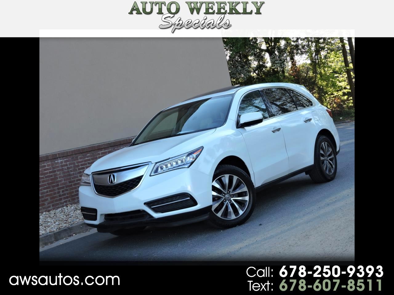 2014 Acura MDX FWD 4dr Tech/Entertainment Pkg