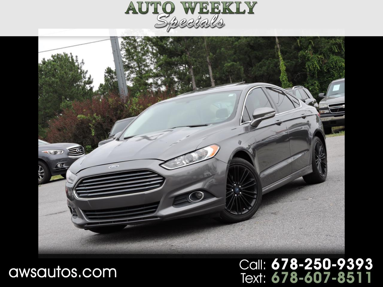 2014 Ford Fusion 4dr Sdn I4 SEL