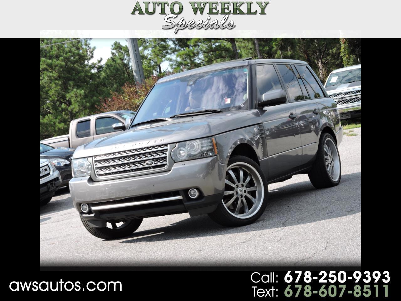 2011 Land Rover Range Rover 4WD 4dr SC