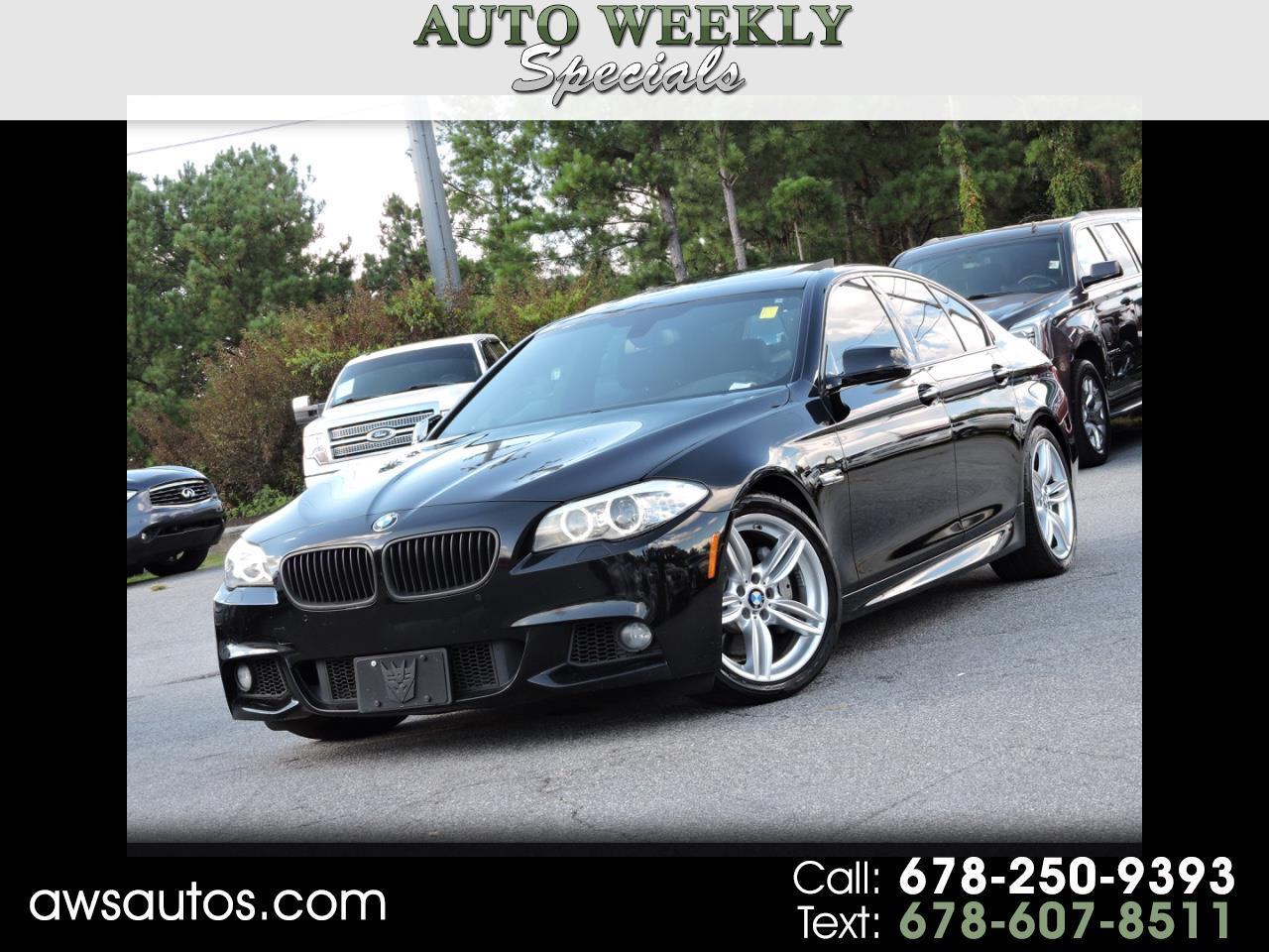 2013 BMW 5 Series M-SPORTS PKG