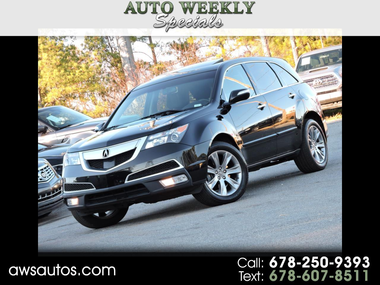 Acura MDX AWD 4dr Advance/Entertainment Pkg 2013