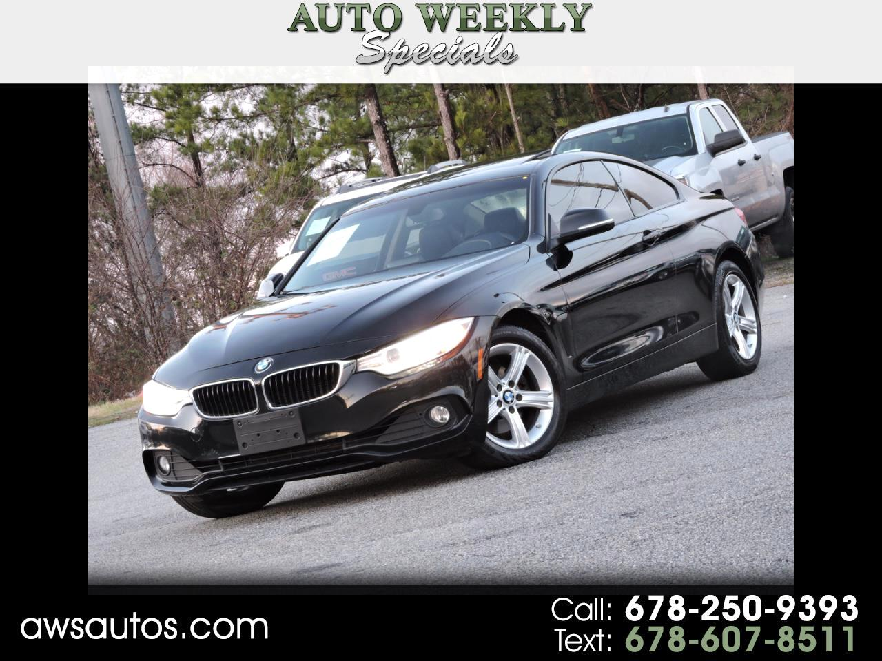 BMW 4 Series 2dr Cpe 428i xDrive AWD SULEV 2014