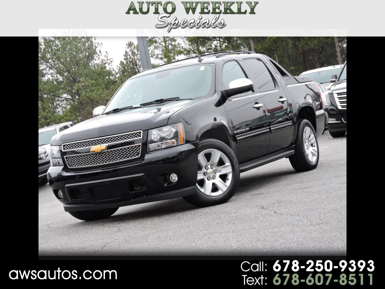 Chevrolet Avalanche 2WD Crew Cab LT 2012