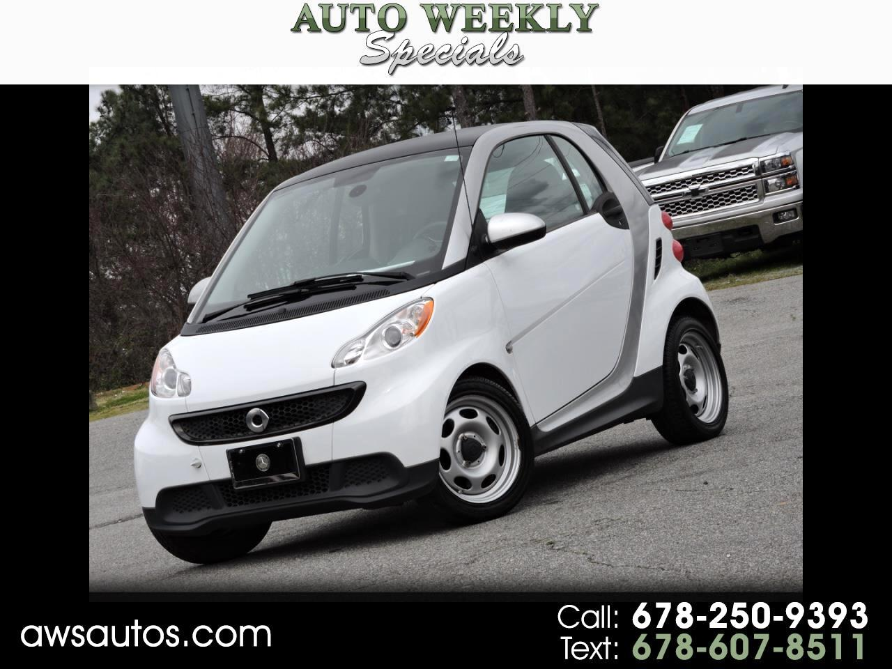 smart Fortwo 2dr Cpe Passion 2015
