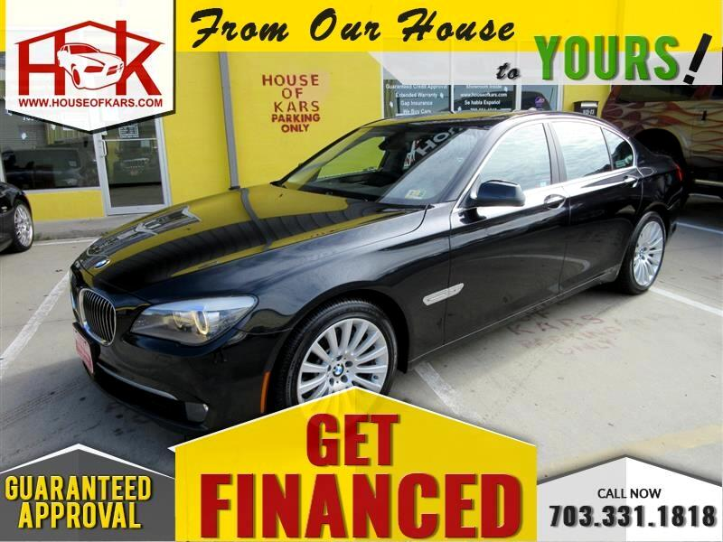 2012 BMW 7-Series 4dr Sdn 750i xDrive AWD