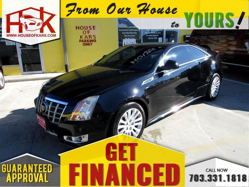 2013 Cadillac CTS 2dr Cpe Performance AWD