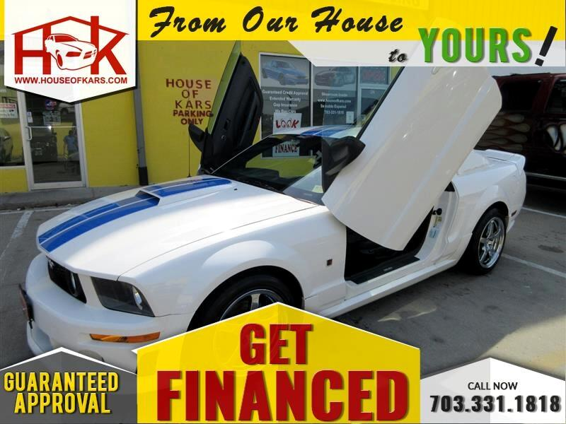 2007 Ford Mustang 2dr Cpe Deluxe