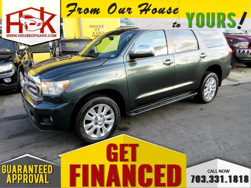 2008 Toyota Sequoia 4WD 4dr LV8 6-Spd AT Platinum (Natl)