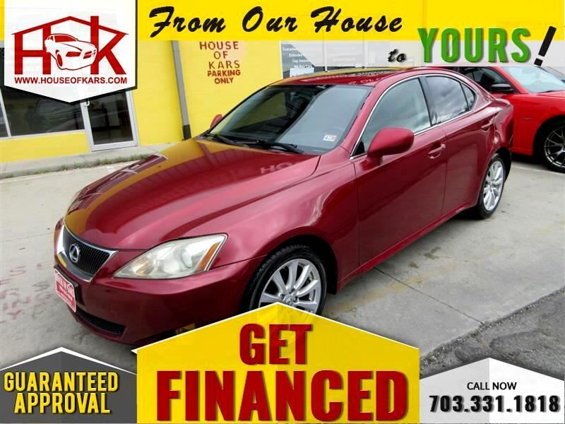 Lexus IS 250 4dr Sport Sdn Auto AWD 2007