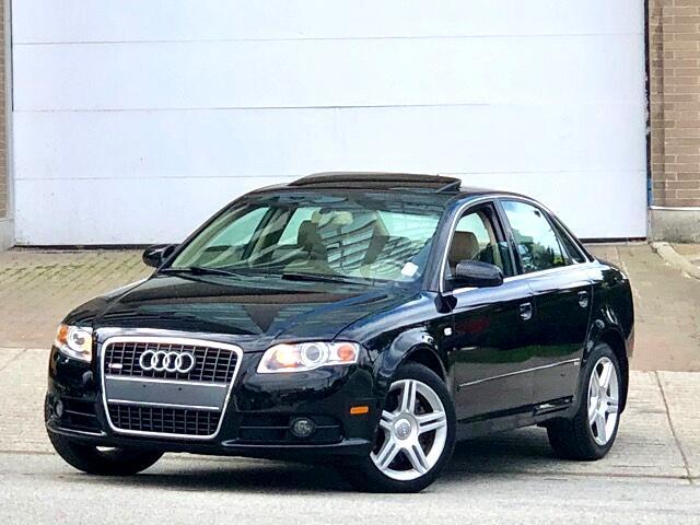 2008 Audi A4 2.0T Quattro  S-Line Package