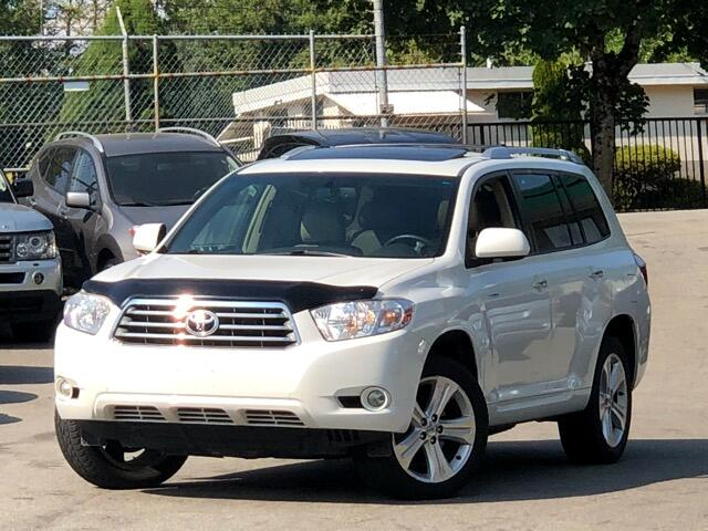 2008 Toyota Highlander Limited 4WD  7 Passengers