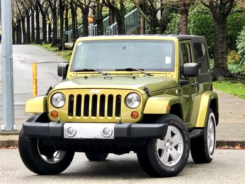 2010 Jeep Wrangler Sahara 4WD