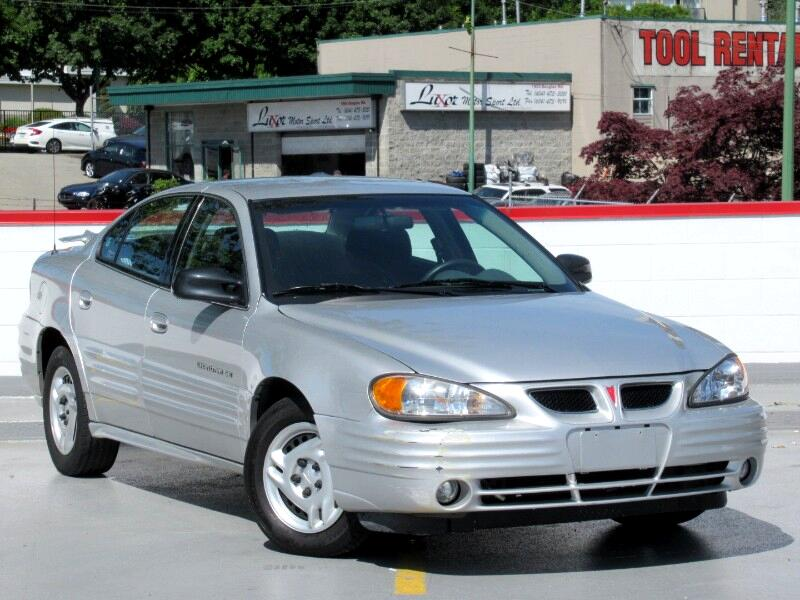 2001 Pontiac Grand Am SE Sedan