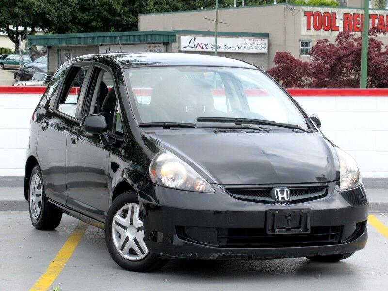2007 Honda Fit 5-Speed AT