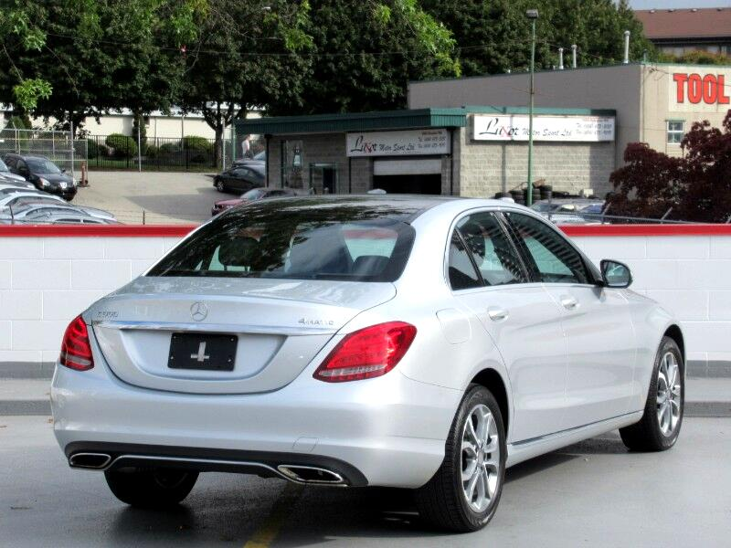 2015 Mercedes-Benz C-Class C300 4MATIC Sedan