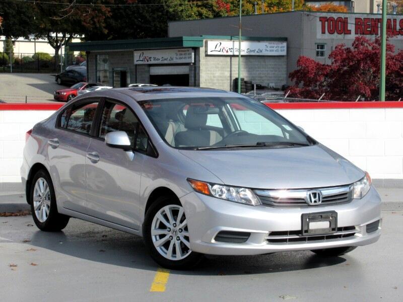 2012 Honda Civic EX SEDAN AT
