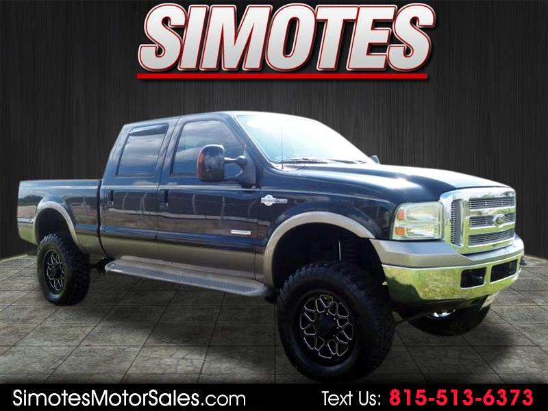 Ford F-350 SD King Ranch Crew Cab 4WD 2006