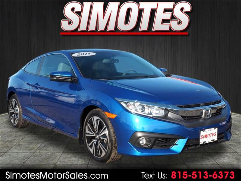 Honda Civic EX-L Coupe CVT 2018